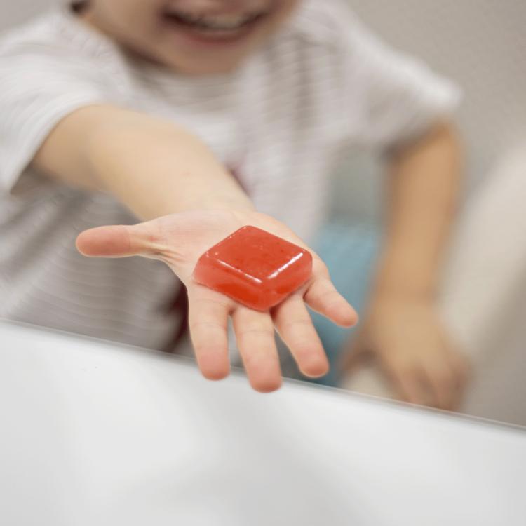 A goma é uma forma farmacêutica para crianças entre as que mais fazem sucesso